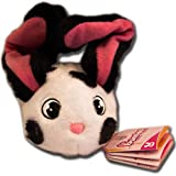 Bunnies IMC Toys - Orejas, nariz y cola magnética (blanco, manchado negro)