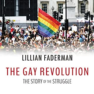 The Gay Revolution audiobook cover art