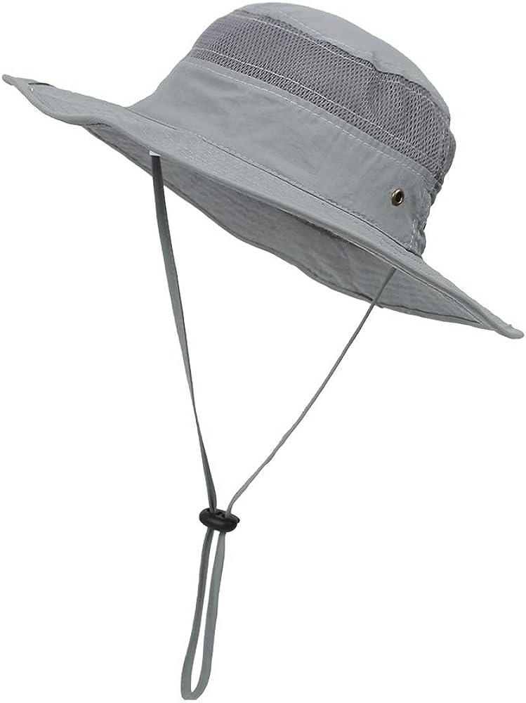 Kids Mesh Sun Hat Toddler Baby Summer Wide Brim Beach Hat Sun Protection Hiking Hat Fishing Hat