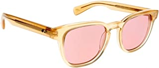 Paul Smith HADRIAN PM8230SU - 1151/84 Sunglasses Nude Frame 50mm w/ Light Violet Lens
