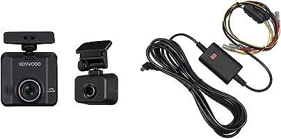 Kenwood(ケンウッド) 前後撮影対応2カメラドライブレコーダー DRV-MR450 & 駐車監視電源コード CA-DR350 【セット買い】