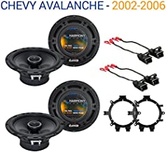 Compatible with Chevy Avalanche 2002-2006 OEM Speaker Replacement Harmony R5 R65 Package New