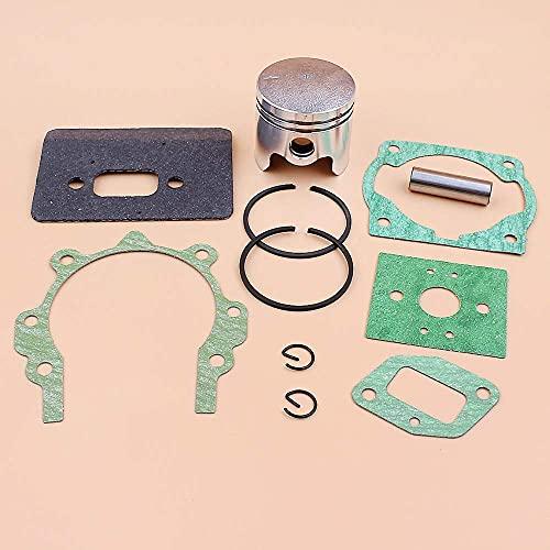 Juego completo de juntas de anillos de pistón de 40 mm para 43cc 40-5 BC430 CG430 1E40F-5 Mitsubishi TL43, cortadora de desbrozadora de motor, pasador de 10 mm