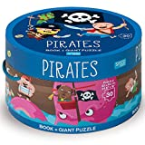 Pirates. Ediz. a colori. Con puzzle (Sassi junior)