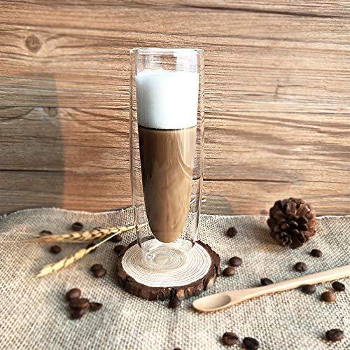 Copas de vino de 150 ml de doble pared taza de café Shot Vodka vasos de cerveza beber vaso de vino jugo de agua taza de champán creativo