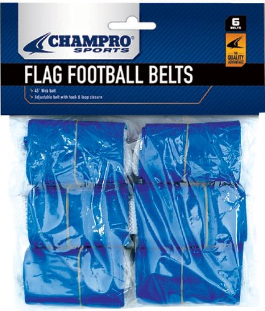 自治後方に野菜Champro a105?Flag Belts、6パッケージ