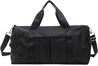 SAPU Gym Duffle Bag,Dry Wet Separated Gym Bag,Training Handbag Yoga Bag,Unique Wedding Gift for Bride and Groom, Anniversa...