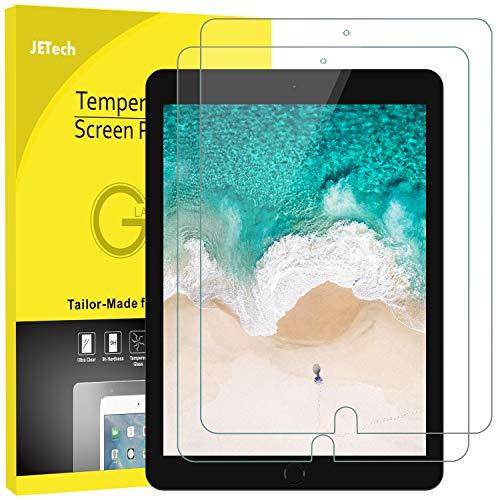 JETech Panzerglas Kompatibel mit iPad Air 3 (10,5 Zoll Modell 2019) & iPad Pro 10,5 (2017), Gehärtetem Glas Bildschirmschutzfolie, 2 Stücke