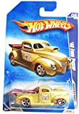 Hot Wheels 2009 Modified Rides Elwood's Rod Shop 40 Ford Pickup 1:64 Scale