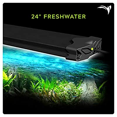 Aquatic Life Edge WiFi LED Aquarium Light, 24-Inch Freshwater