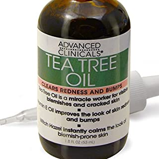 Advanced Clinicals 1.8oz Tea Tree Oil for Redness and Bumps. by Advanced Clinicals