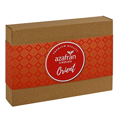 Azafran Gewürz Geschenk Set Orient (inkl Zatar, Harissa, Ras el Hanout)