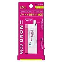 トンボ鉛筆 修正テープ モノノート CT-YCN2.5C81 ピンク