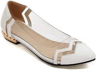 BalaMasa Womens Assorted Colors Novelty Weekender Urethane Pumps Shoes APL10466