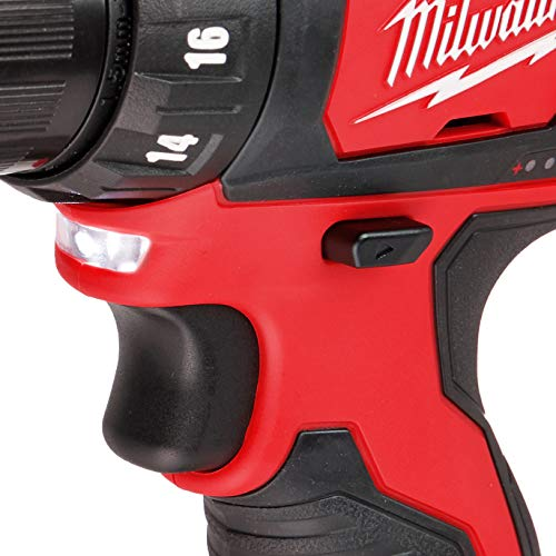MILWAUKEE'S M12 12V 3/8-Inch Drill Driver (2407-20) (Bare Tool Only - Battery, Charger, and Accessories Not Included), Multicolor