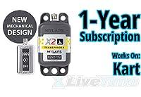 MyLaps トランスポンダー X2 充電式 カート用 1年間のサブスクリプション付き