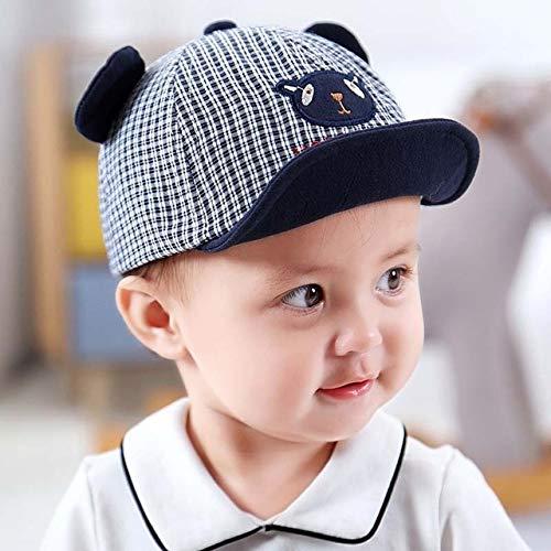 Bonita Gorra para bebé, número, Gorra de béisbol para bebé, Primavera, Verano, niños, Sombrero de algodón para el Sol, Sombreros con Visera para Exteriores-Navy Blue Style 6
