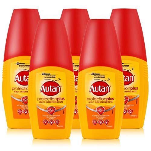 5Pack Autan Protection Plus Spray 5x 100ml