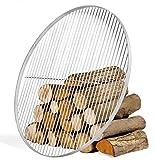 JS GartenDeko Grillrost aus Edelstahl Ø 70 cm rund Grillrost für Schwenkgrill geeignet Rundgrill CookKing