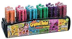 Raymond Geddes 67549 Scent-sibles Dessert Crystal Twist Mini Gel Pens asst Colors 60 per Display