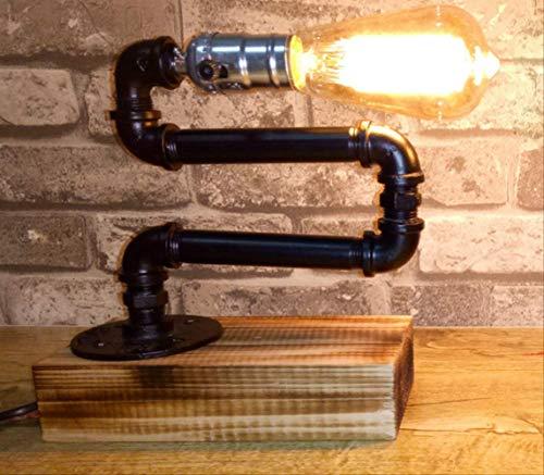 Weinlese-Pers5onlichkeit-Stehtisch beleuchtet Café-Schlafzimmer-kreative einziehbare Unterseiten-Klempnerarbeit-Lampe