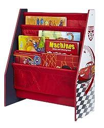 Meuble Cars bibliothèque pour ranger les livres de l'enfant