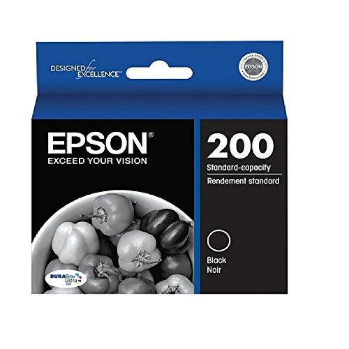 Epson® 200, (T200120) DuraBrite® Ultra Standard-Capacity Black Ink Cartridge