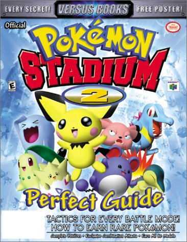 Price comparison product image Versus Books Official Pokemon Stadium 2 Perfect Guide