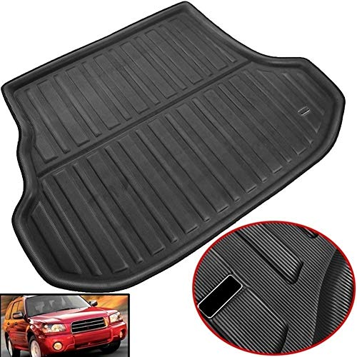XIANGSHAN Accessories Fit For Subaru Forester 2003-2008 Rear Trunk Tray Boot Liner Cargo Mat Floor Carpet Protector 2004 2005 2006 2007