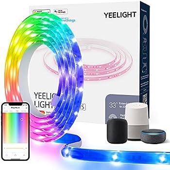 Yeelight 6.5 FT WiFi RGB Smart LED Strip Lights