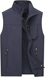 LINGZHIGAN Wearing A Vest Summer Ultra-thin Large Size Men's Sleeveless Plus Fertilizer To Increase Middle-aged Casual Wea...