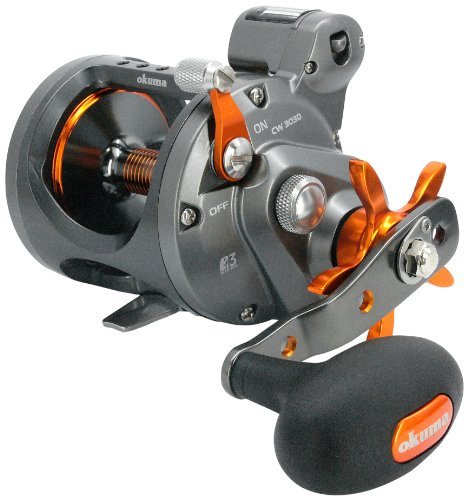 Okuma Cold Water Linecounter Trolling Reel...