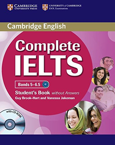 Complete IELTS Bands 5-6.5 Student's Book without Answers with CD-ROM [Lingua inglese]