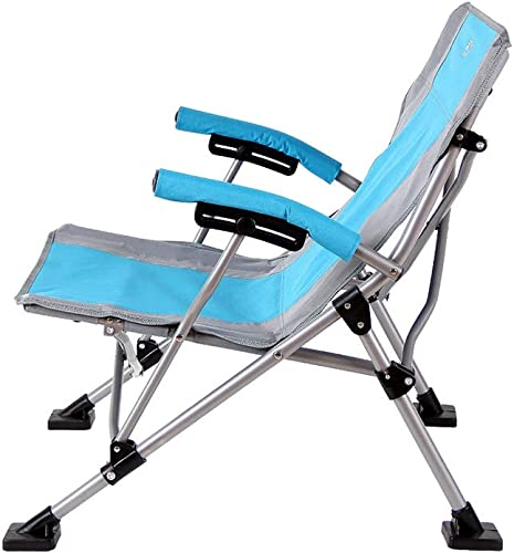 GWDJ Chaises Longues, Loisirs de Plein Air Portable Chaise Pliante Chaise de Camping Pique-nique Chaise de Pêche de Pêche Esquisse Chaise De Barbecue chaise longue