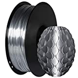 GIANTARM Filament PLA 1.75mm Silk Silber,3D Drucker filament 1kg Spool
