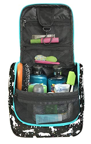 WAYFARER SUPPLY Toiletry Bag: Pack-it-flat Travel Organizer...
