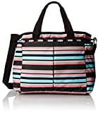 LeSportsac Ryan Baby Diaper Bag Carry On, Tennis Stripe, One Size