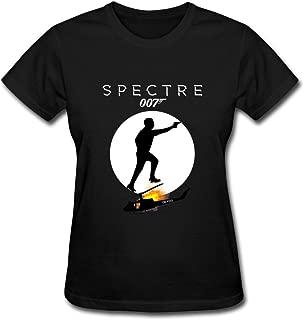 ZIYUAN Women's 007 Spectre 2015 T-Shirt