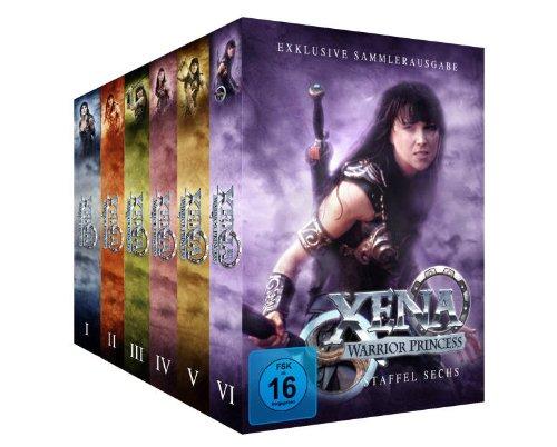 Xena - Warrior Princess - Komplett-Package, Staffel 1-6 [38 DVDs]