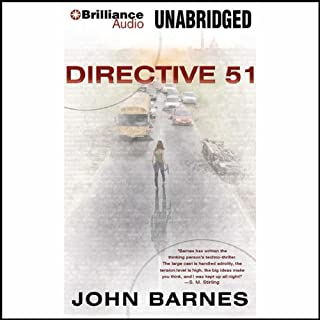 Directive 51 audiobook cover art