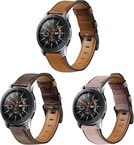 Gransho Correa de Reloj 22mm, Correas Repuesto (diseño de Moda Original) (22mm, 3PCS H)