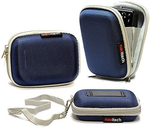 Navitech Blau Wasser Wiederständige Harte Digital Kamera Tasche für das Nikon Coolpix L29 / Coolpix L30 / Coolpix L31