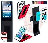 Hülle für Oppo Neo 5s Tasche Cover Case Bumper | Rot |
