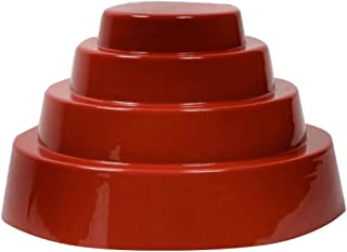 Devo Adult Red Whip It Dome Hat