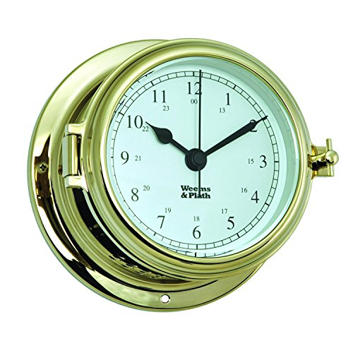 Weems & Plath Endurance 2 115シリーズ クオーツ時計(文字盤 アラビア数字)キャビン用時計をご自宅や贈り物に!