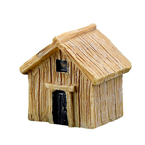Fablcrew. Miniatur-Holzhaus, Dekoration für Mikrolandschaft, Garten, Bonsai, DIY