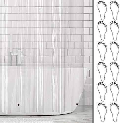 Cortina Baño Transparente  marca mDesign
