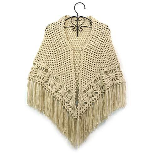 DUOER thuis Dikker Losse haak Bloem Holle kwast mantel sjaal Wild Bruidsjurk Cheongsam Stole Jacket