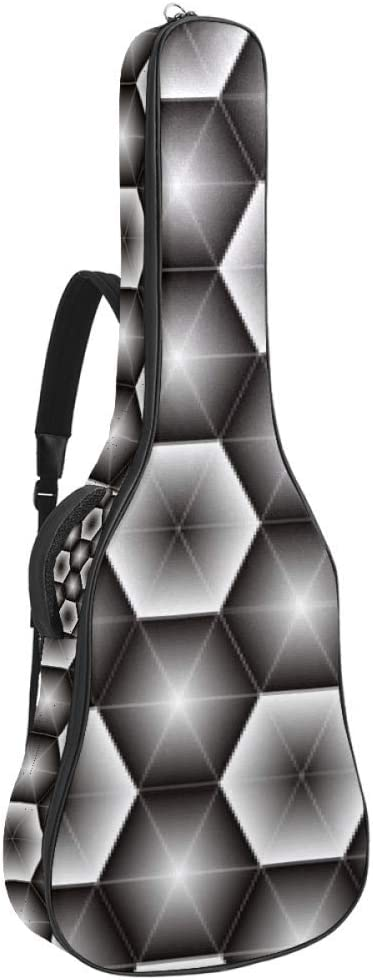 Guitar Gig Bag Waterproof Super-cheap Zipper Soft 1 year warranty Bass Acou Backpack
