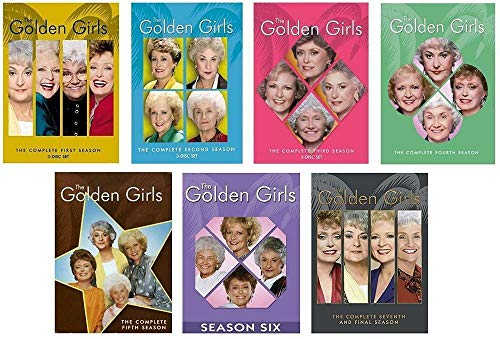 New The Golden Girls: The Complete Series (Seasons 1-7, DVD)